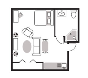 Studio Apartment Burtons Ridge